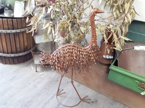 Aussie Emu Garden Decor