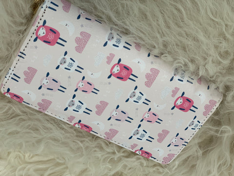 Sweet Sheep Zip Wallet