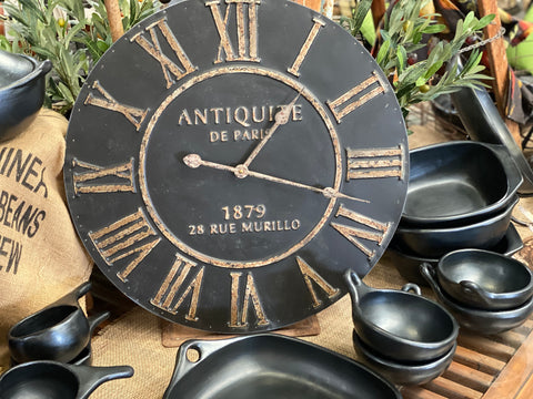 VINTAGE De Paris wall Clock NOW IN STORE