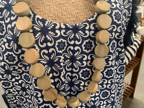 Neutral NUDE Long Necklace by COOL Coconut