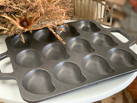 NEW Cast Iron Oyster Tray