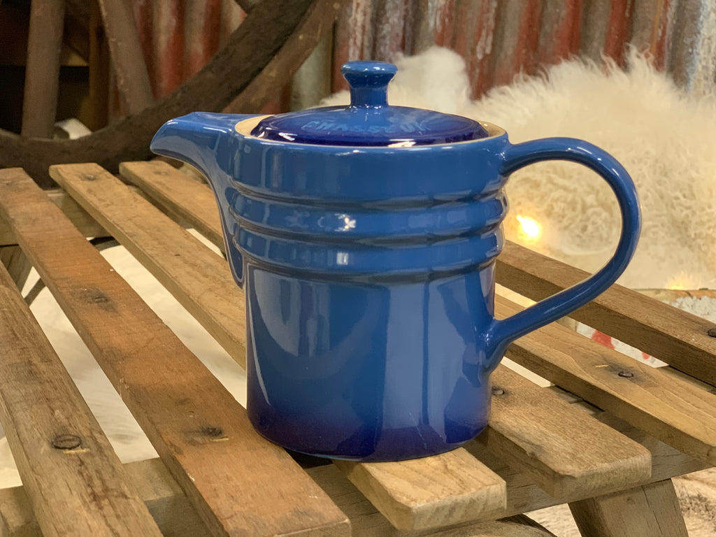 Blue Dripping Jug