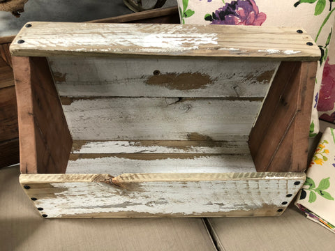 Handmade Shabby Chic Window Box