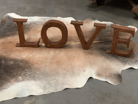 Vintage Timber Handmade LOVE by Opa's SHED Designs