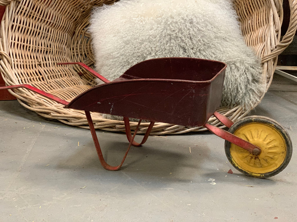 Children's Vintage Wheelbarrow