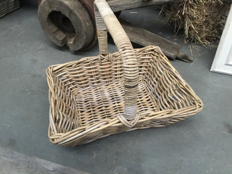 Rattan Carry Basket