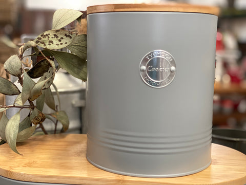 French Grey Cookies Tin