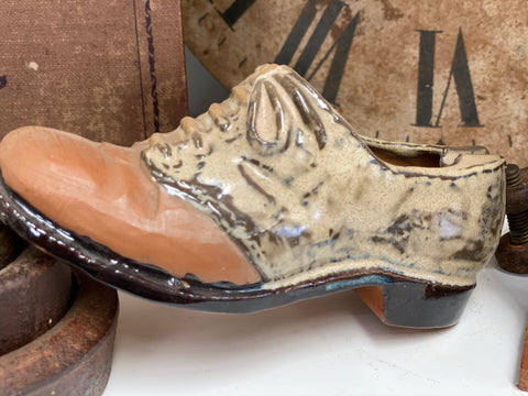 Vintage Ceramic SHOE Decor/Planter