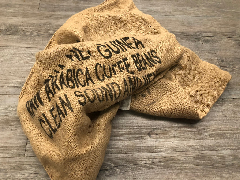 Vintage Coffee Bean Hessian Bag