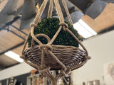 Hanging JUTE Basket
