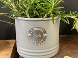French Grey Typhoon HERBS Tin