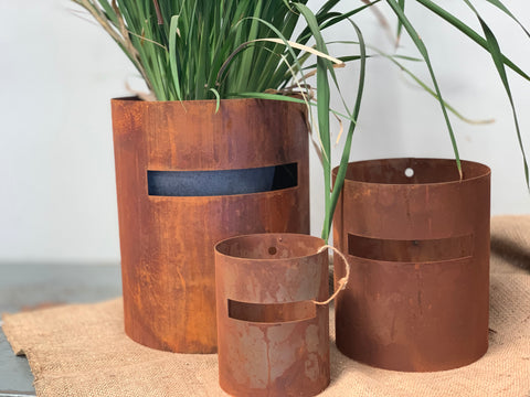 Ned Kelly RUSTY Planters