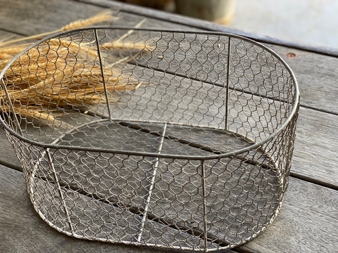 Chicken WIRE Basket OVAL