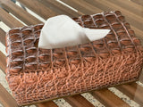 Crocodile Style Tissue Box Holder LAST 1