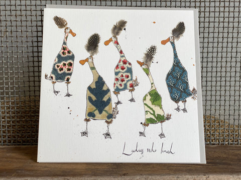 Ladies who Lunch Greeting Card