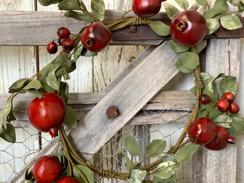 XMAS Pomegranate Wreath