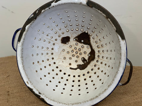 Vintage Heavy Distressed Colander