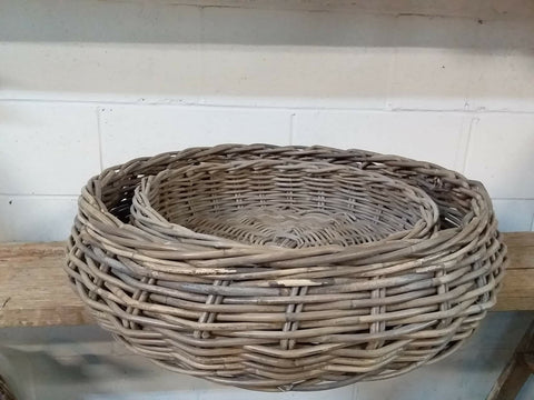 The XL Cambridge Round Basket TRAY