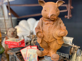 Cast Iron MR PIG Free Postage