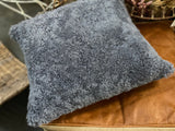 Slate Lambswool Cushion