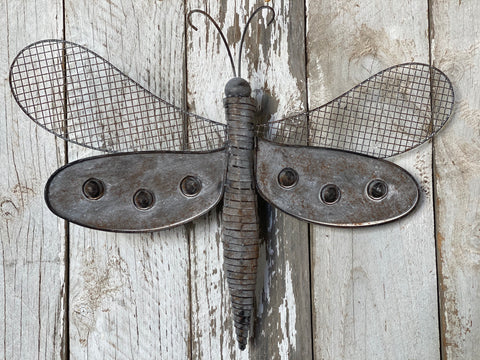 Provincial Dragon Fly WALL/Garden Art  FREE Postage