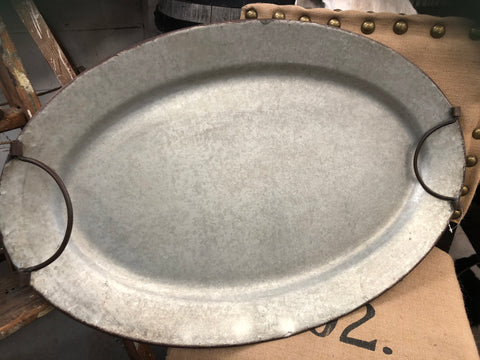 XL Tin OVAL Tray