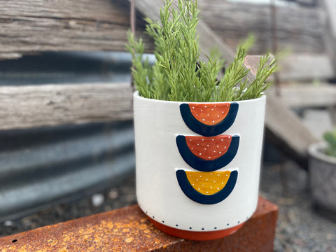 The TRIO Terracotta Planter