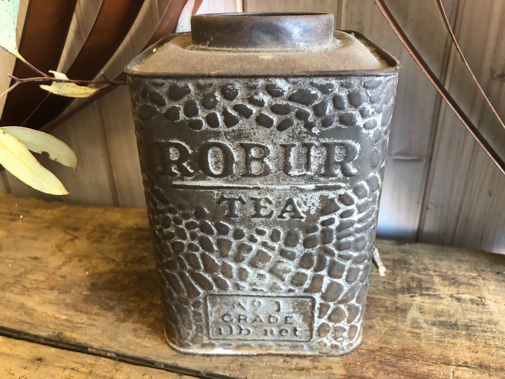 ROBUR Tea Tin