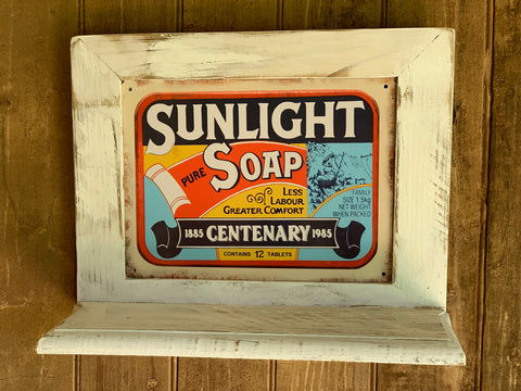 Sunlight Soap Handmade Shelf