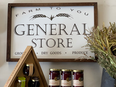 General Store Sign
