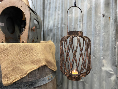 The DOLLY Distressed Lantern