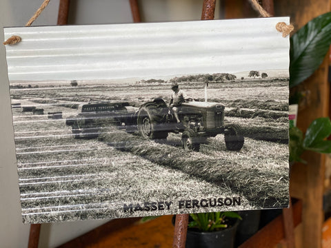 Massey Ferguson Tin Sign