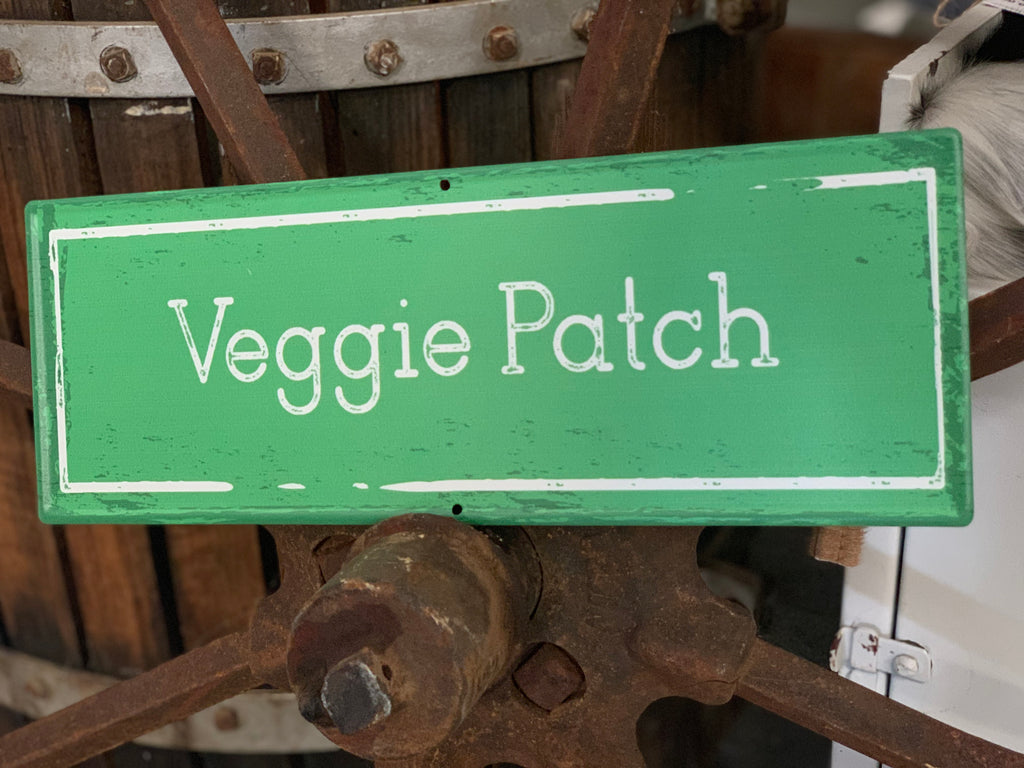 Veggie Patch Tin Sign