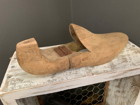 Vintage Timber Shoe Hook