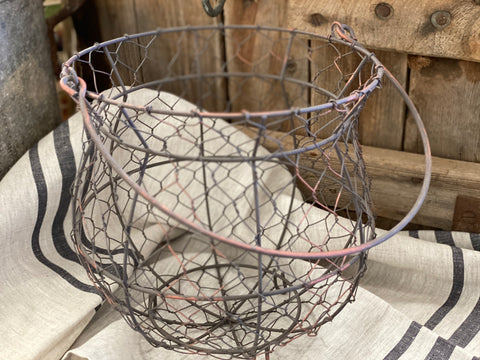 Wire Bell Basket