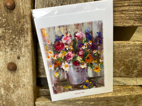 "ARTZ Card ""Flower Pot"""