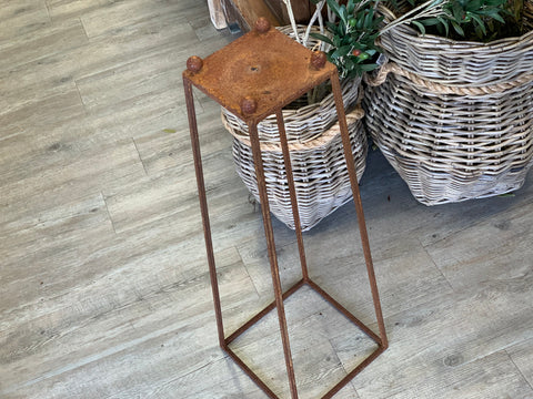 Rusty Metal Stand