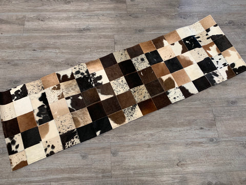 Cow Hide Table Runner