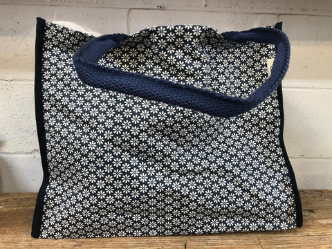 Blue Daisy Bag
