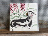 Sausage Dog Greeting Card