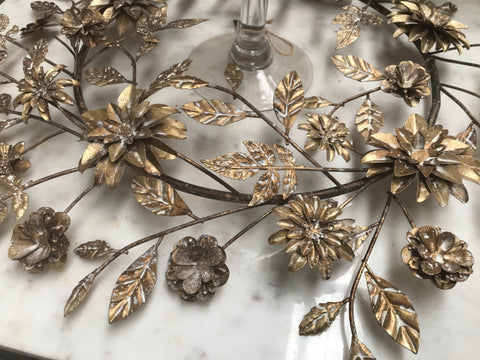 Gold Table/ Wall WREATH