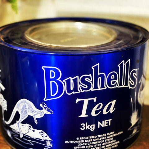 XL Vintage Collectable Tin Bushells Tea