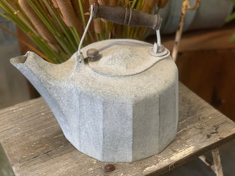 Vintage Cast Iron Kettle