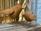 Rusty BIRD Pair