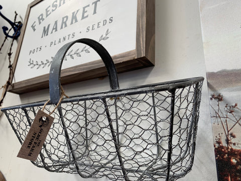 Metal Carry Basket