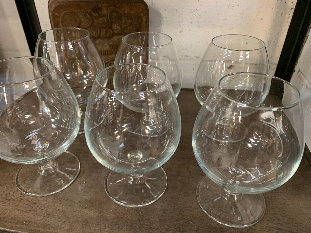 Set of Brandy Glasses x 6