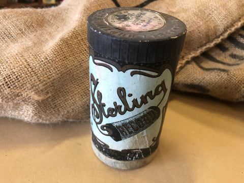 Vintage Sterling Record Roll