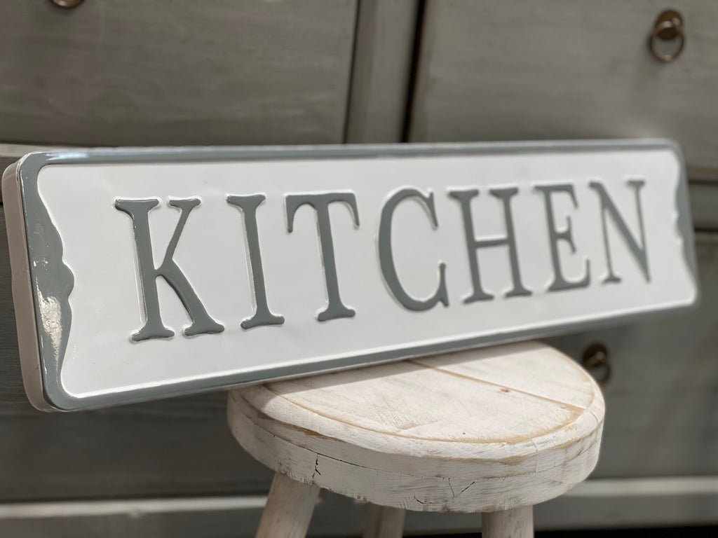 Enamel KITCHEN Sign FREE Postage