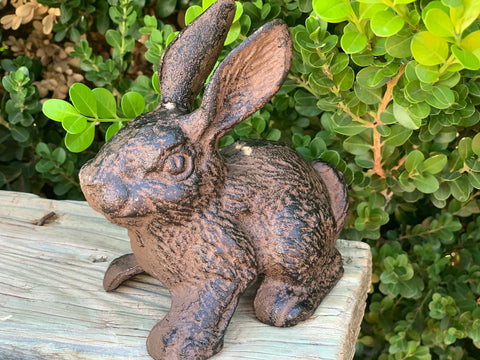 Cast Iron RUBY Rabbit