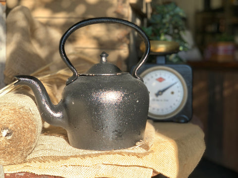 HEAVY Cast Iron Kettle